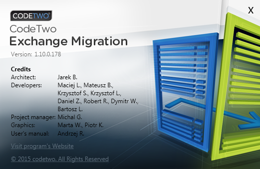 Code Two Exchange Migration