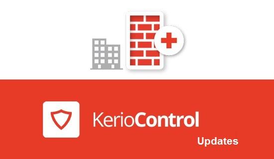 Kerio Control Updates