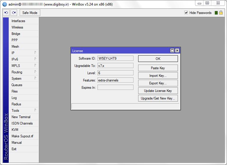Mikrotik RouterOS 5.24