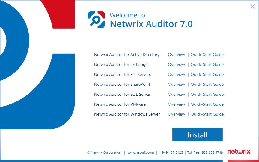 Netwrix Auditor 7.0