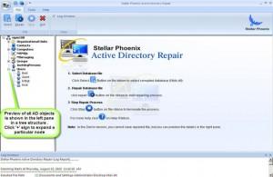Stellar Phoenix Active Directory Repair2