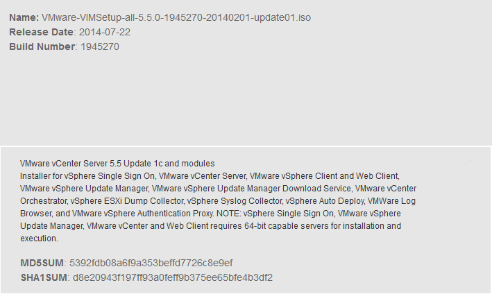 VmwareVcenter5.5-UPD1c