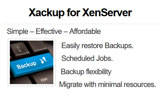 Xackup For XenServer Elite